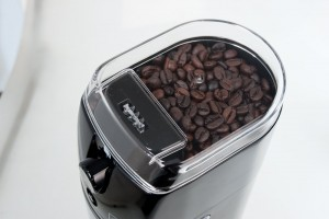 Secura Automatic Electric Burr Coffee Grinder Hopper